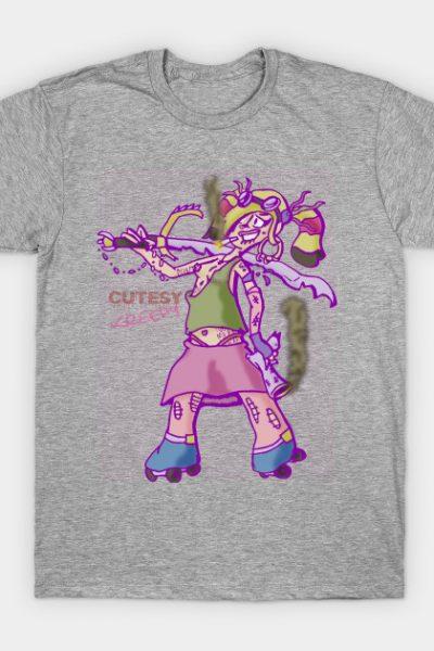 Roller Derby Girl: Sinnamon T-Shirt