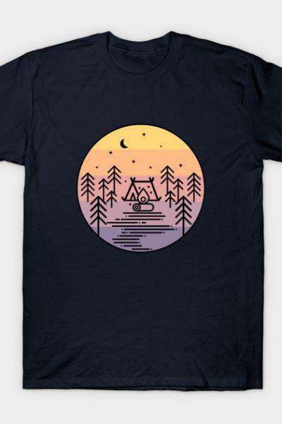 Sleeping under the stars T-Shirt