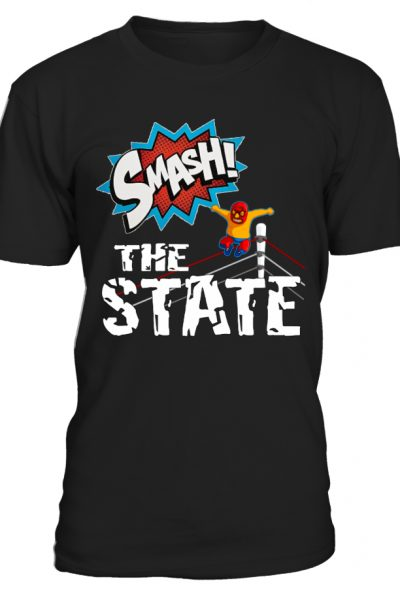 SMASH! The State – Shirt for Anarchists
