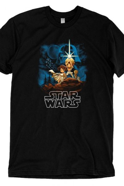 Star Wars: Episode IV – A New Hope T-shirt | Official Star Wars Tee – TeeTurtle