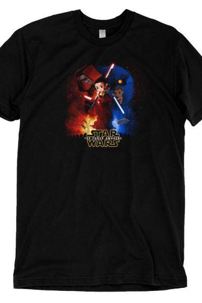 Star Wars: Episode VII – The Force Awakens T-shirt | Official Star Wars Tee – TeeTurtle