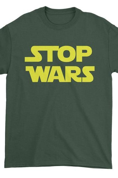 Stop Wars Now Mens T-shirt