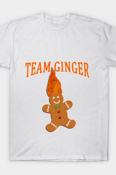 Team Ginger for Christmas T-Shirt