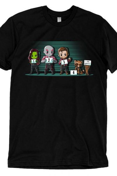 The Lineup T-shirt | Official Guardians of the Galaxy Marvel Tee – TeeTurtle