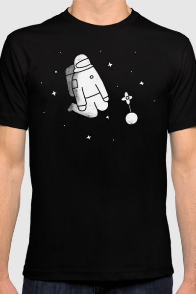 The Lonely Spaceman T-shirt by therocketman
