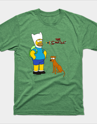 The simpsons time by mixtedworld