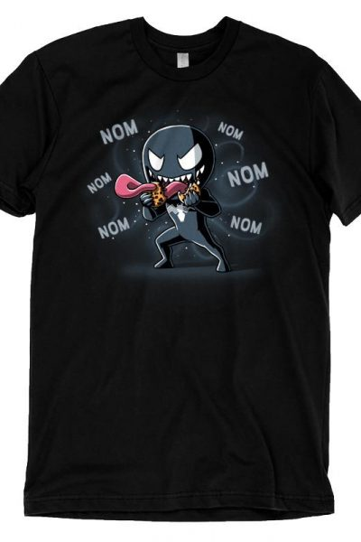 Venom Nom Nom T-Shirt | Official Marvel Tee – TeeTurtle