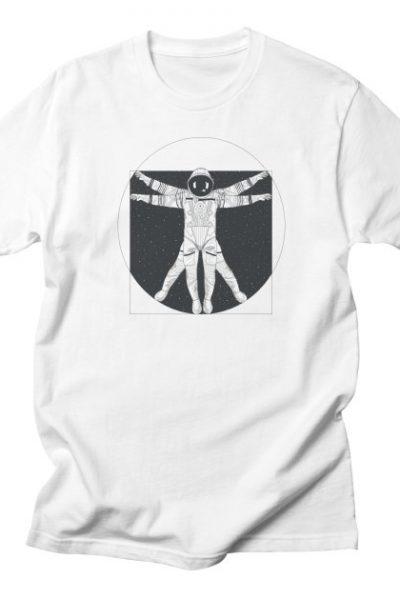 Vitruvian Spaceman (Dark Ink) | 84collective