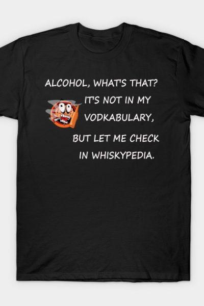 Vodkabulary Funny T-shirt