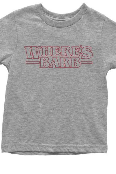 Where's Barb Strange Youth T-shirt