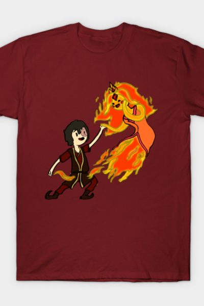 Zuko and Flame Princess T-Shirt