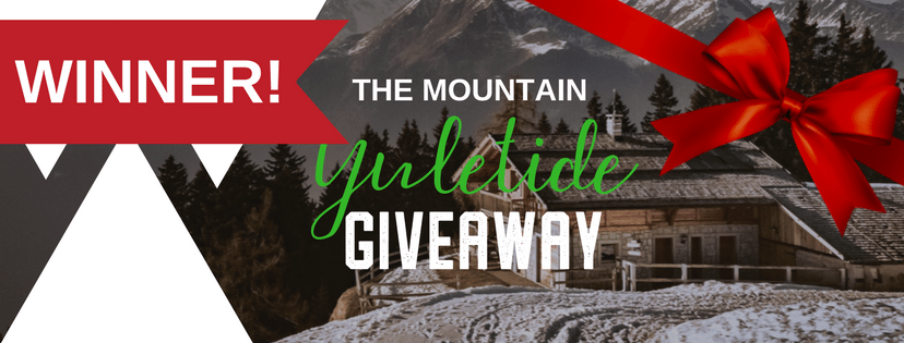 Announcing the WINNER of The Mountain's Yuletide Giveaway!