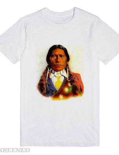 apache chief james garfield | T-Shirt | SKREENED