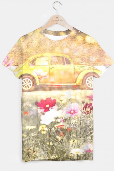Beatle Bug T-shirt, Live Heroes