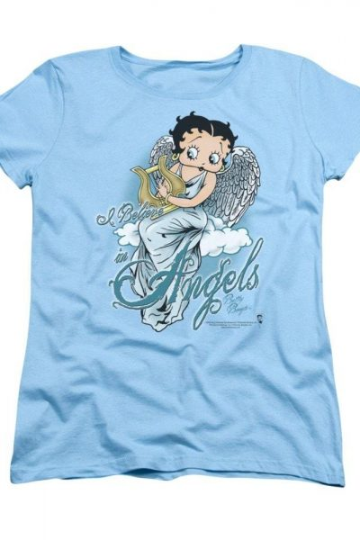 Betty Boop – I Believe In Angels Women's T-Shirt