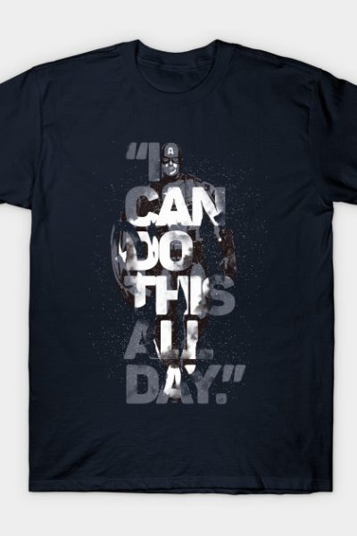 Captain America – I CAN DO THIS ALL DAY T-Shirt