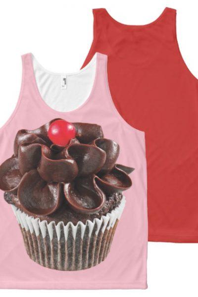 CHOCOLATE CUPCAKE All-Over-Print TANK TOP