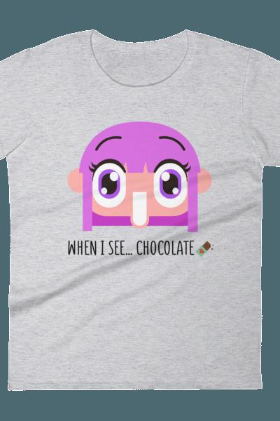 Chocolate Love Women's Tee – RedyTee