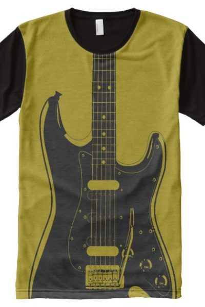 GUITAR All-Over-Print SHIRT