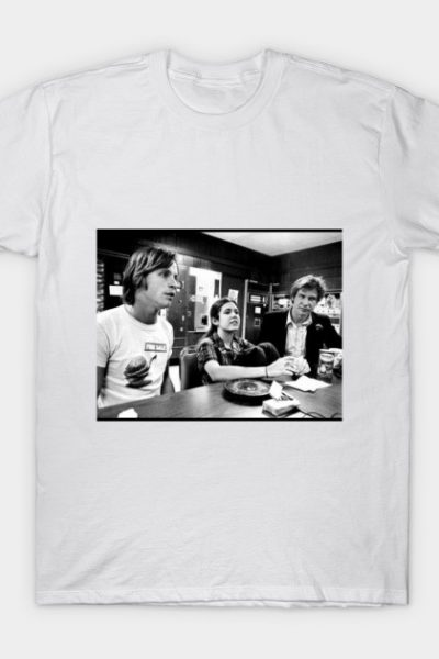 Harrison Ford, Carrie Fisher, Mark Hamill Vintage T-Shirt