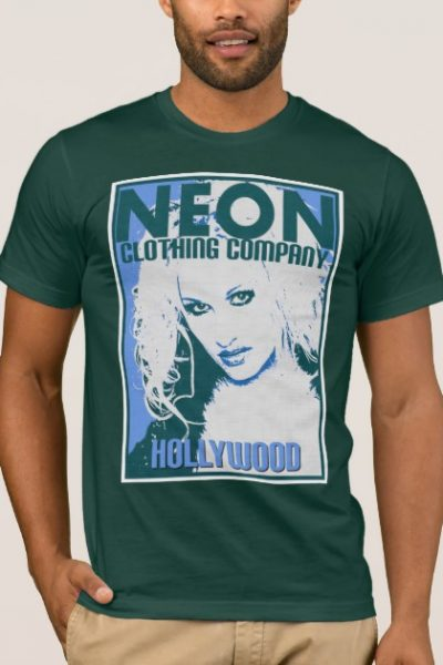 HOLLYWOOD-BLUE T-Shirt