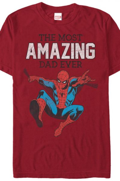 Marvel – Amazing Dad Adult Regular Fit T-Shirt