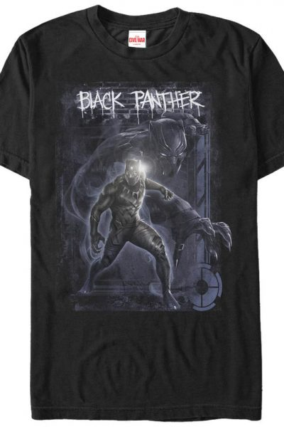 Marvel – Black Panther Adult Regular Fit T-Shirt