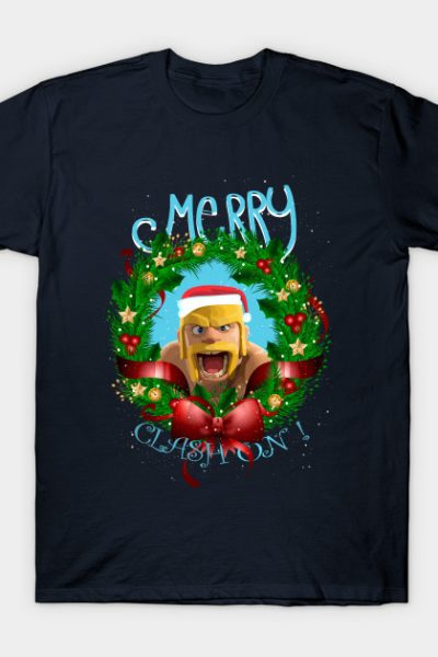 Merry Clash On-24 ! | Barbarian Christmas Special T-Shirt