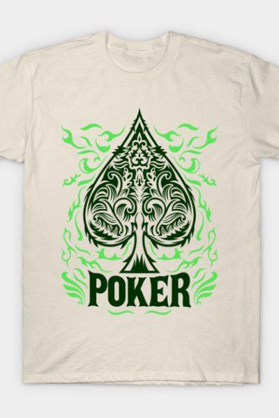 Poker Green design T-Shirt