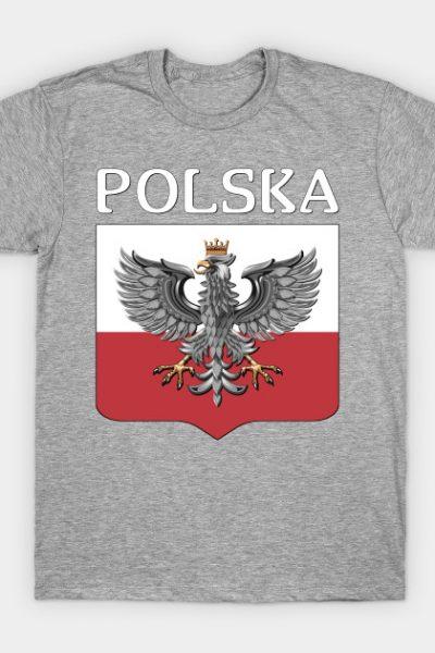 POLSKA – Polish Eagle and Shield T-Shirt
