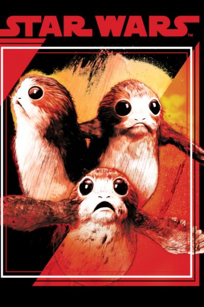 Porgs In Flight T Shirt By StarWars Design By Humans