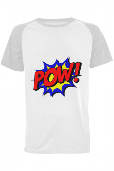POW Men's Raglan T-shirt (USA Size) (Model T11) | ID: D2135606