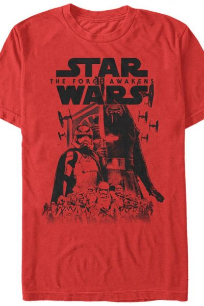 Star Wars – Episode 7 – Army Leader Adult Regular Fit T-Shirt