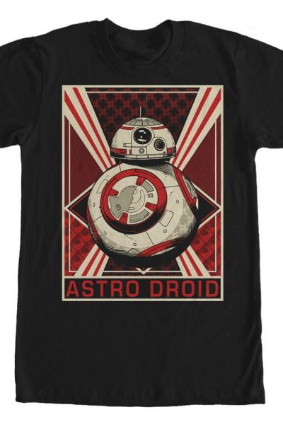 Star Wars – Episode 7 – Droid Adult Regular Fit T-Shirt