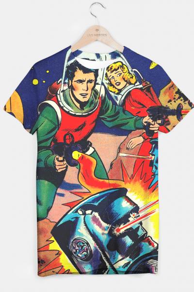STRANGE WORLDS T-shirt, Live Heroes