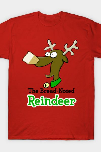 The Bread-Nosed Reindeer (Rudolph's Gluten-Free Cousin)