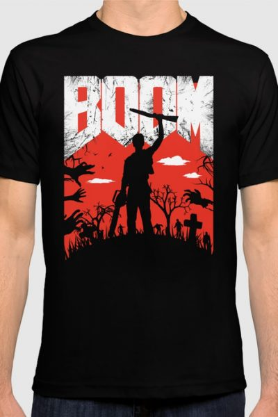 This… is my BOOMSTICK! T-shirt by therocketman