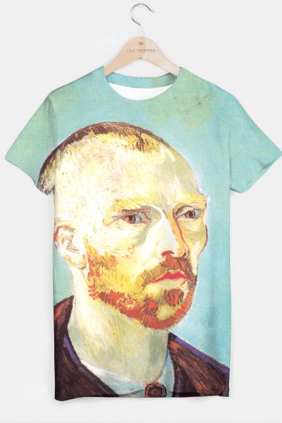 Vincent van Gogh-dedicated to Paul Gauguin T-shirt, Live Heroes