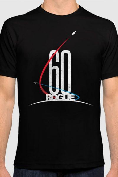 60 Rogue T-shirt by therocketman