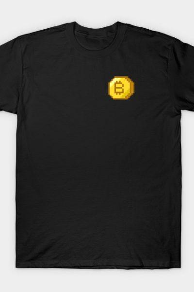 8 Bit Bitcoin T-Shirt