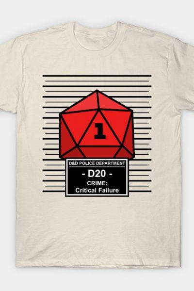 Dnd – D20 Arrested for Critical Failure