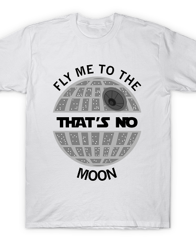 Fly me to the Shirt