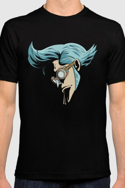 Franky T-shirt by ipinations