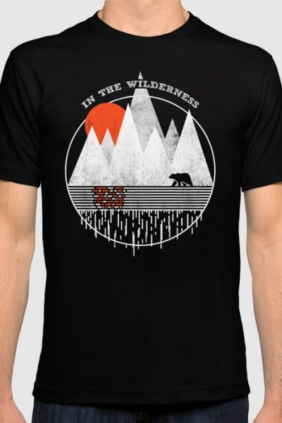 In The Wilderness T-shirt by therocketman