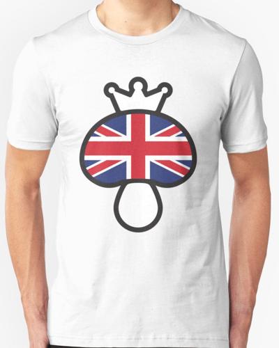 Mushroom British flag