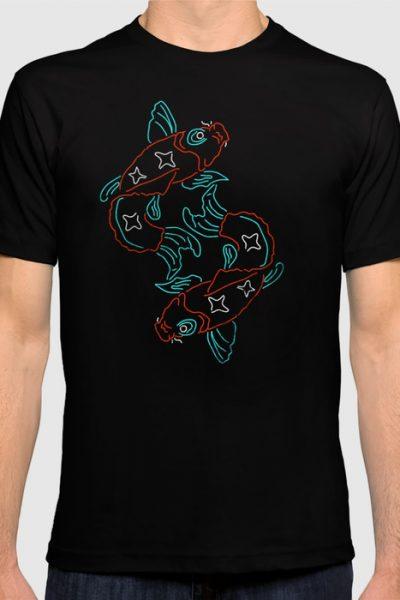 Nishikigoi World T-shirt by therocketman