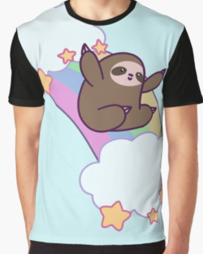 Rainbow Cloud Sloth