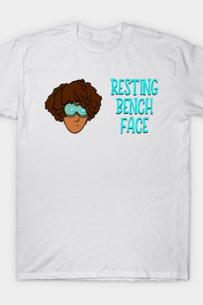 Resting Bench Face – Afro T-Shirt