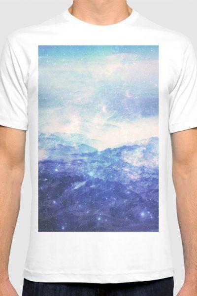 Ridges Of Time T-shirt by therocketman