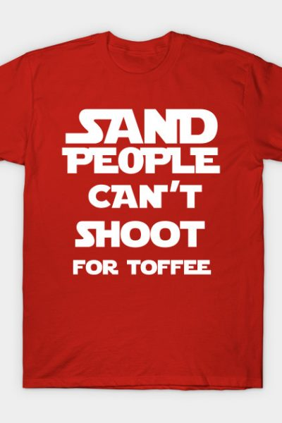 Sand People Can't Shoot For Toffee